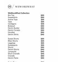 WeWoreWhat Sample Sale