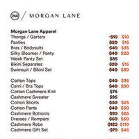 Miaou, Morgan Lane & NEST Sample Sale