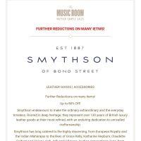 Smythson Sample Sale